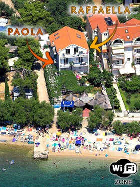 Appartementen Mile Beach, Vodice
